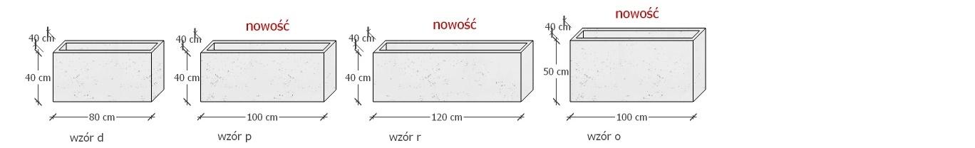 doniczki z betonu