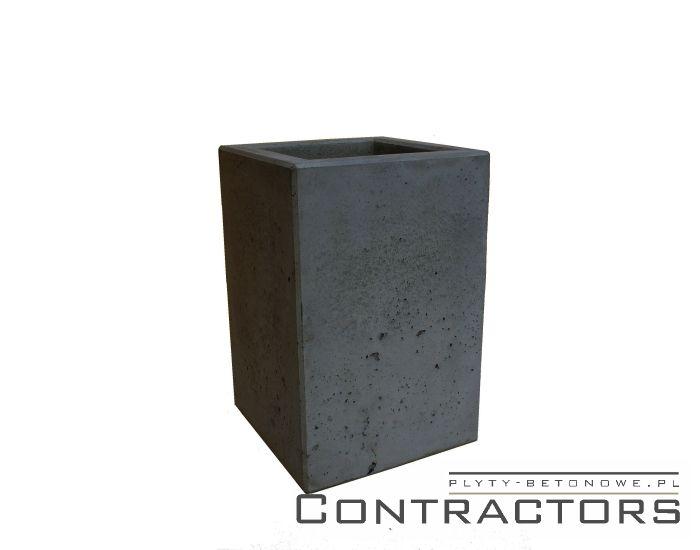 betonowa donica